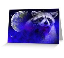 Raccoon Dream4 Greeting Card