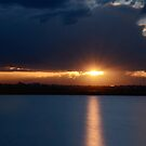 Sunset in Sydney ariport by kvlionphotos