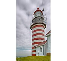 West Quoddy Head Light Photographic Print