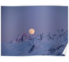 Moon Over Resurrection Bay Poster