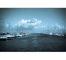 Yacht club  Photographic Print