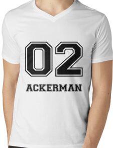 Ackerman Mens V-Neck T-Shirt