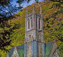 Ireland. Connemara. Kylemore Abbey. Church. by vadim19