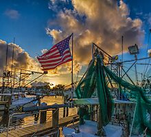 Pledge allegiance  to the flag by Brian Wright