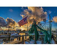 Pledge allegiance  to the flag Photographic Print