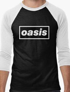 Oasis - Logo Men's Baseball ¾ T-Shirt