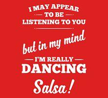 Dancing Salsa! Womens Fitted T-Shirt