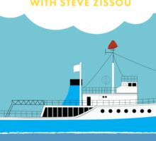 The Life Aquatic with Steve Zissou Poster Sticker