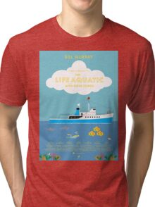 The Life Aquatic with Steve Zissou Poster Tri-blend T-Shirt