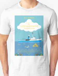 The Life Aquatic with Steve Zissou Poster Unisex T-Shirt