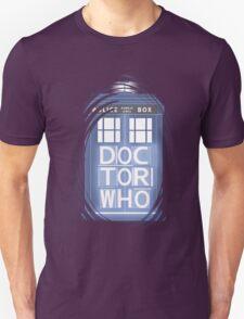 wibbly wobbly timey wimey TARDIS T-Shirt