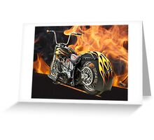 H.D. 'Fire with Fire' Greeting Card