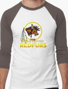 The Cosmo Canyon Redfurs - Redskins  Men's Baseball ¾ T-Shirt