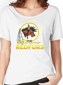 The Cosmo Canyon Redfurs - Redskins  Women's Relaxed Fit T-Shirt