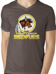 The Cosmo Canyon Redfurs - Redskins  Mens V-Neck T-Shirt