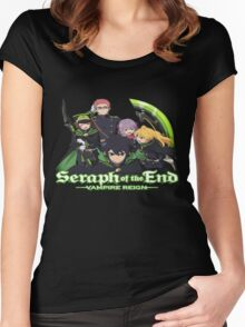 Seraph of the end Women's Fitted Scoop T-Shirt