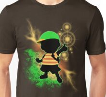 Super Smash Bros. Green Ness Silhouette Unisex T-Shirt