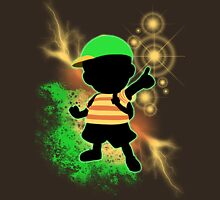 Super Smash Bros. Green Ness Silhouette Unisex T-Shirt