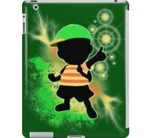 Super Smash Bros. Green Ness Silhouette iPad Case/Skin