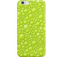 Green Water Bubbles Case Design iPhone Case/Skin