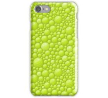Green Water Bubbles Case Design iPhone Case/Skin