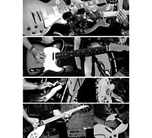 Guitars in Three Photographic Print