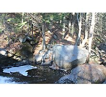 Bubbly bubbly river Photographic Print