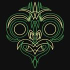 Pinstripe Tiki  by beardo