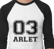 Arlet Men's Baseball ¾ T-Shirt
