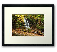 Spoonauger Falls Framed Print