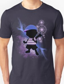 Super Smash Bros. Blue Ness Silhouette Unisex T-Shirt