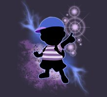 Super Smash Bros. Blue Ness Silhouette Unisex T-Shirt