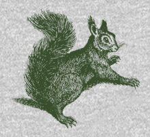 vintage squirrel illustration from 1842 Kids Clothes