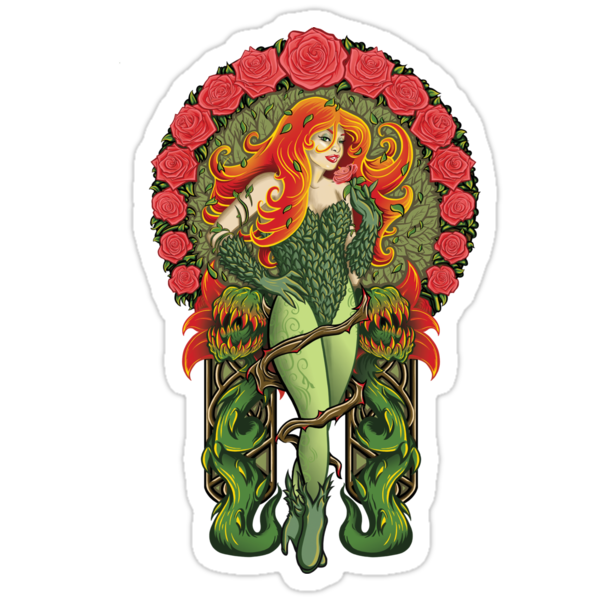 Pretty Poison - Sticker by TrulyEpic