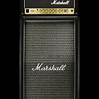 Marshall Electric Guitar Amp amplifier by Johnny Sunardi