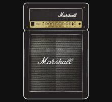 Marshall amplifier Amp by Johnny Sunardi