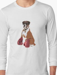 Boxer Dog Long Sleeve T-Shirt