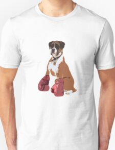 Boxer Dog Unisex T-Shirt