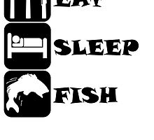 Eat Sleep Fish by kwg2200