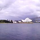 Sydney Harbor by Maureen Clark