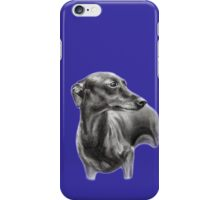 Whippet iPhone Case/Skin