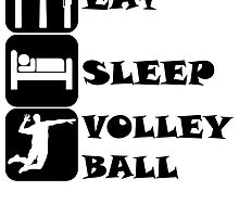 Eat Sleep Volleyball by kwg2200