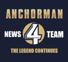 Anchorman News Team 4 by hartmanjameson