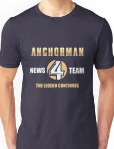 Anchorman News Team 4 Unisex T-Shirt
