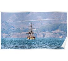 Sailing Away by Ernie Dickey Poster