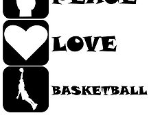 Peace Love Basketball by kwg2200