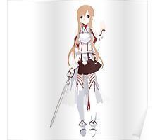 Asuna (Sword Art Online) - SimplisticArt Poster