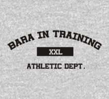 Bara in Training Tee black text by Astrotoast