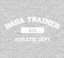 Bara Trainer white text by Astrotoast