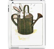Peter Rabbit in Watering Can iPad Case/Skin